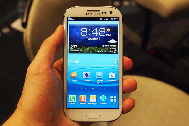 samsung galaxy s3 I9300 hands on