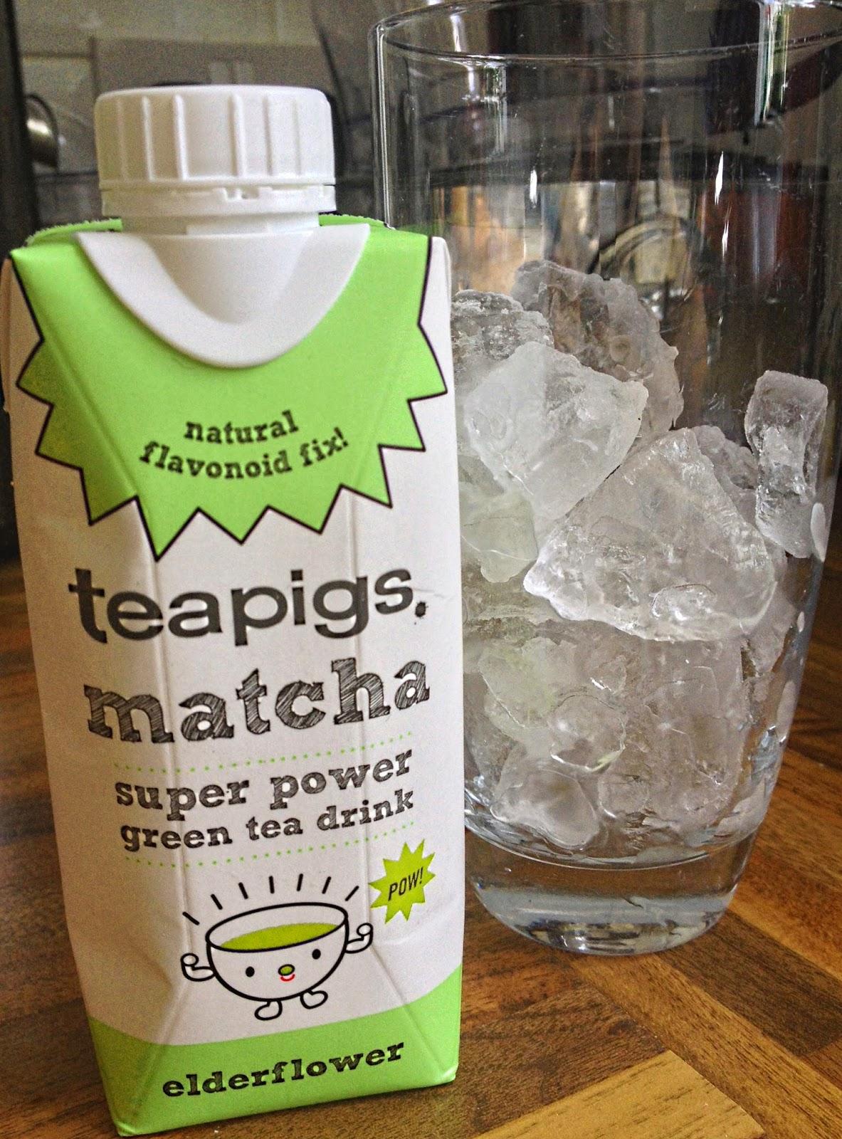 ThatRedheadSaid : teapigs matcha super power green tea drink : elderflower drink review