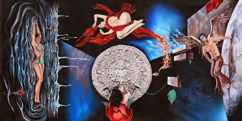 Fuego, Tierra, Aire, Agua, Tiempo, Espacio, Energía, .........Conciencia