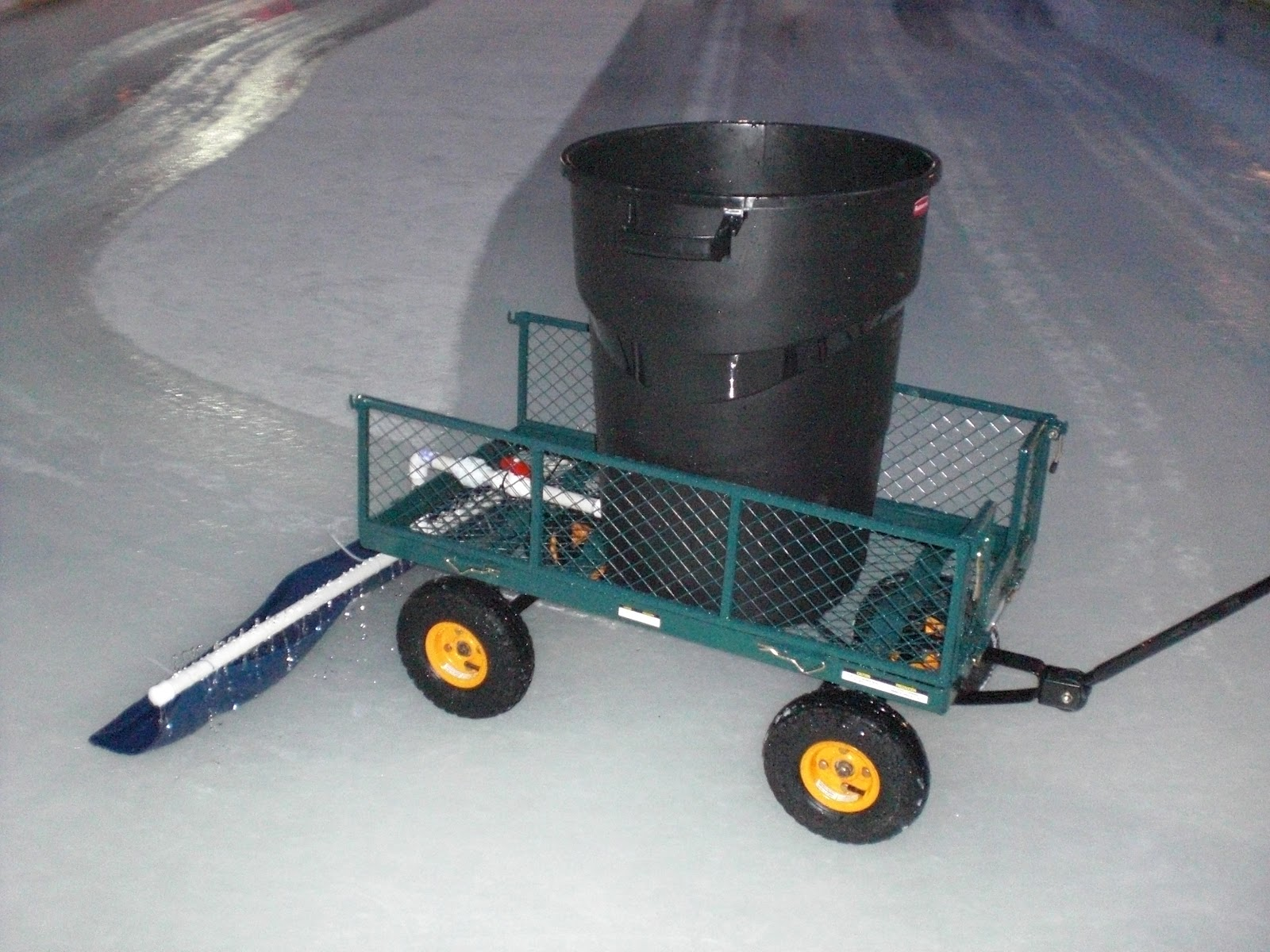 Useful Homemade zamboni | landscape design plans