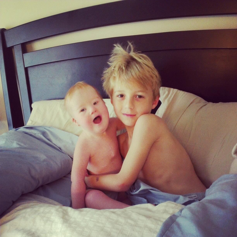 Matthieu et jean dans le bain | Famille nombreuse | Flickr