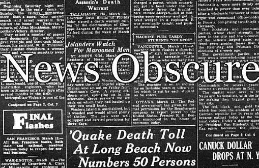 My Other Project: News Obscure