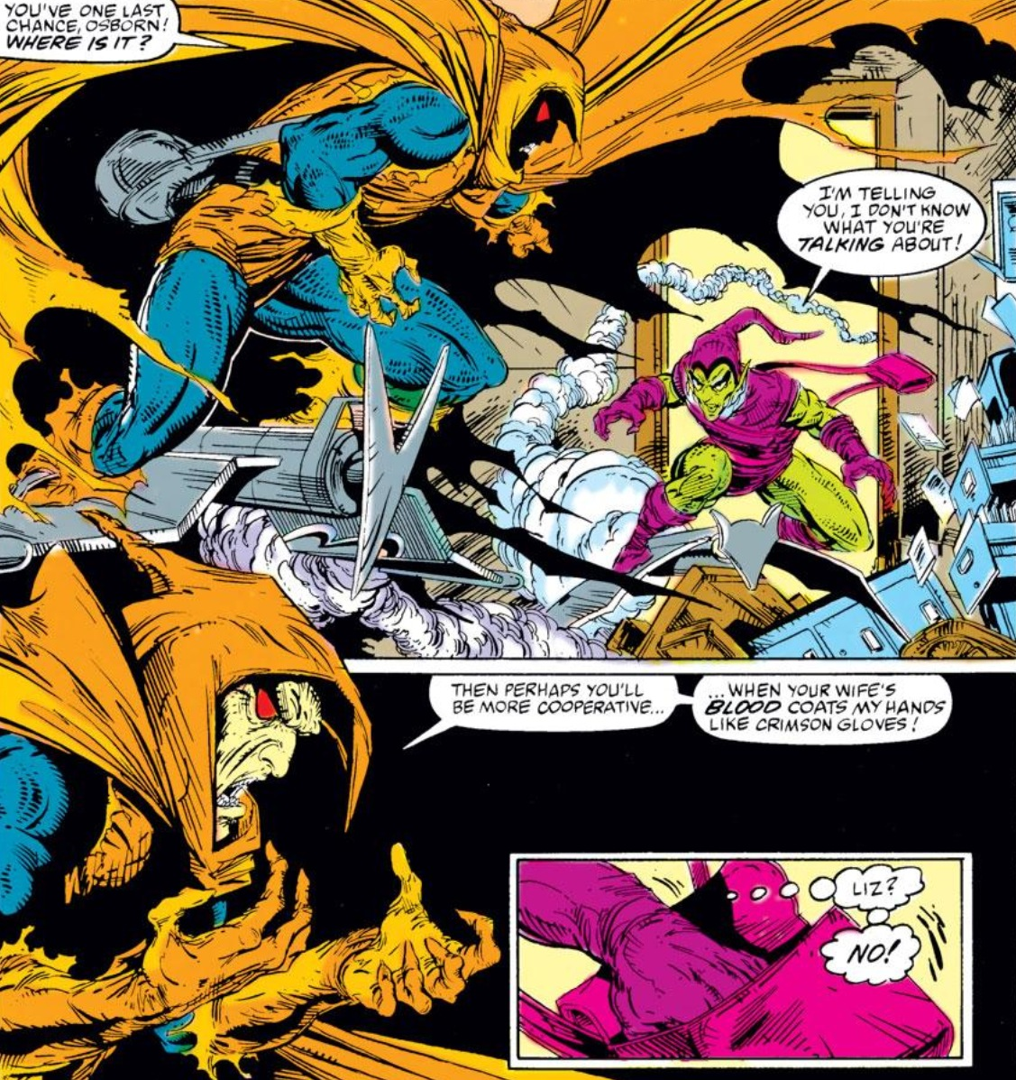 House of m green goblin -  Or The Time Phil Ulrich The Formerly Heroic 4th Gb Fought And Killed Kingsley S Twin Brother