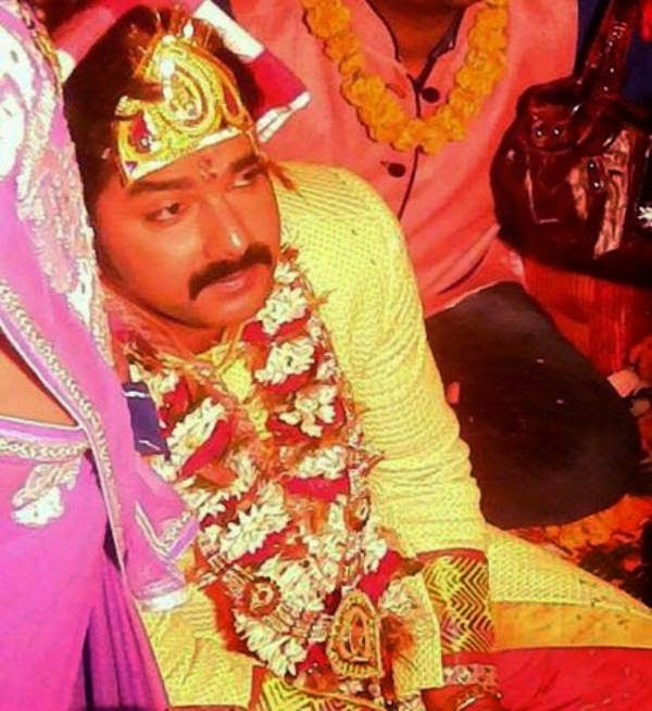 Bhojpuri Actor Pawan Singh Tilak Ceremony photo