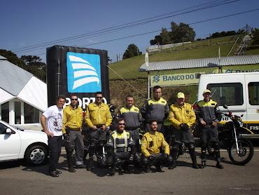 Caxias do Sul-RS com os Fiscais de Trânsito