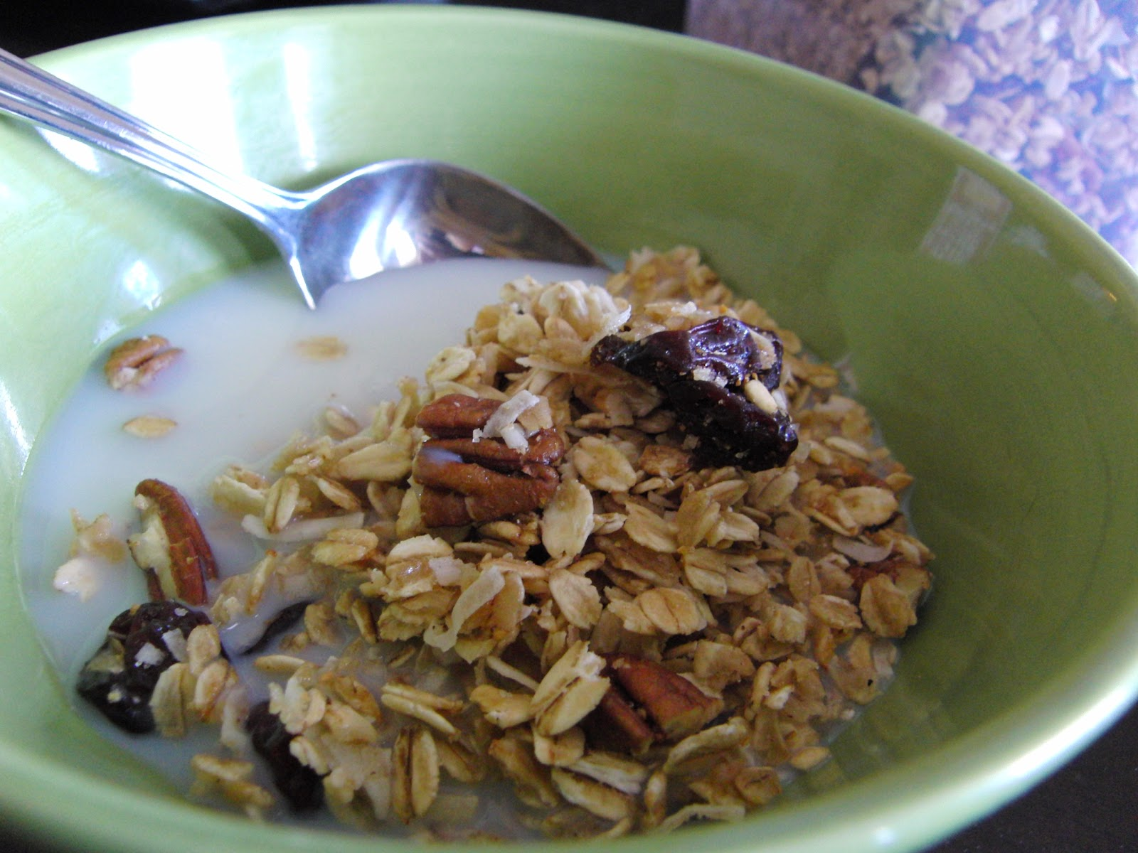Curly Girl Kitchen: Cherry, Pecan, and Coconut Granola ...