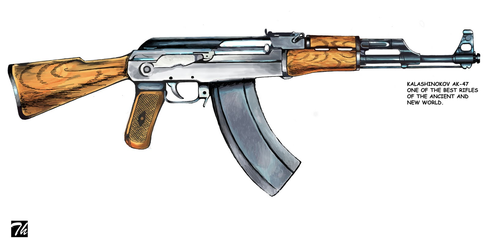 Pin Ak 47 Wallpaper Desktop Wallpapers ¡ta Pcs on Pinterest