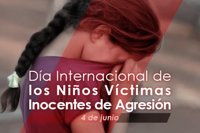 Día Internacional Niños Víctimas Agresión