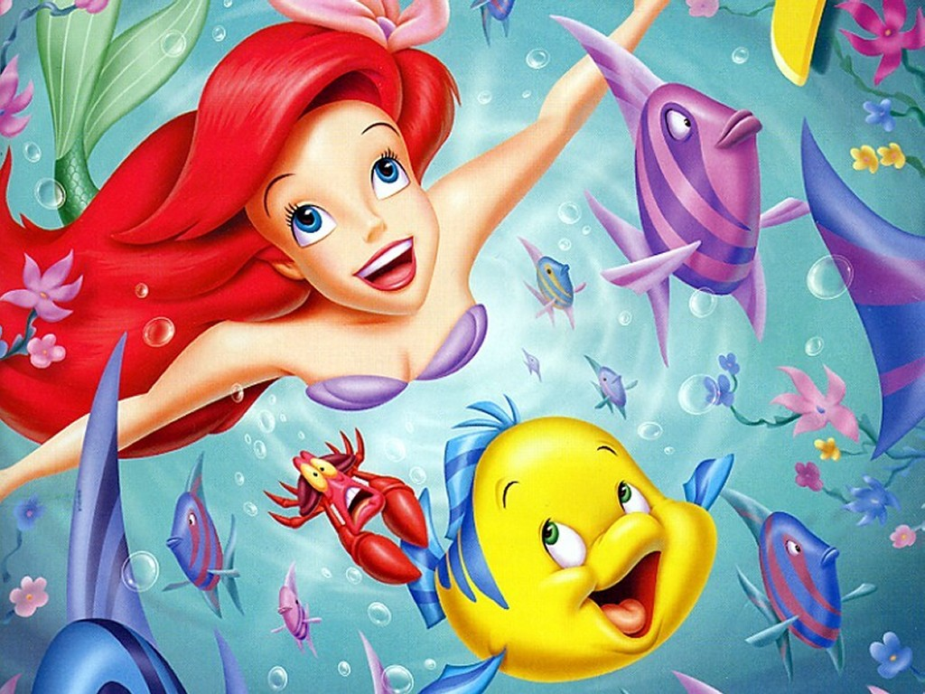 Forgotten cartoon characters the little mermaid