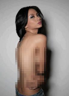 Gambar Bugil Shenly Spicy Telanjang Tanpa Sensor Foto Payudara Sanli Spisi Topless Telanjang Dada Hot