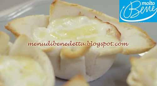 Croque madame muffin ricetta Parodi per Molto Bene su Real Time