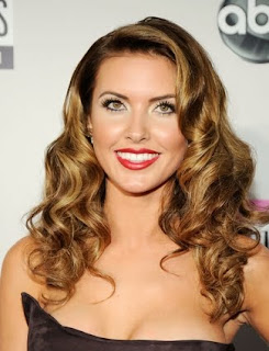Holiday Hairstyles, Celebrities Holiday Hairstyles, Audrina Patridge