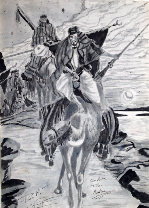 Guerrero tribu Algelina 25-10-89