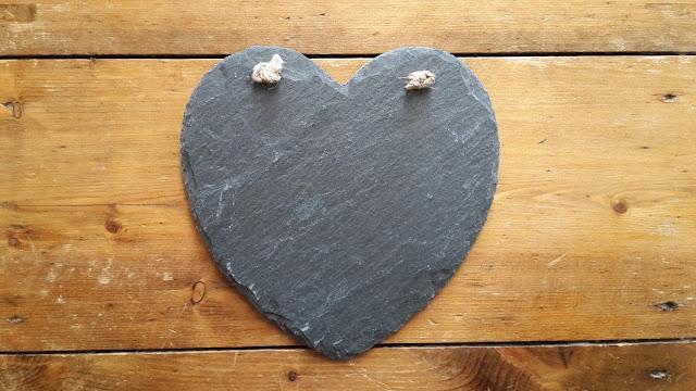 Project 365 day 198 - Slate heart // 76sunflowers