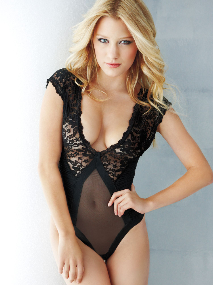 Ashley Hinshaw for Frederick's of Hollywood Lingerie 2013 - STORIES ...