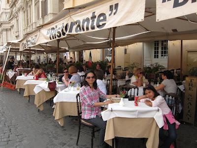Tre Scallini Restaurant Rome