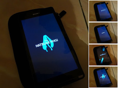 Boot Animation: Hatsune Miku di Sony Xperia SP