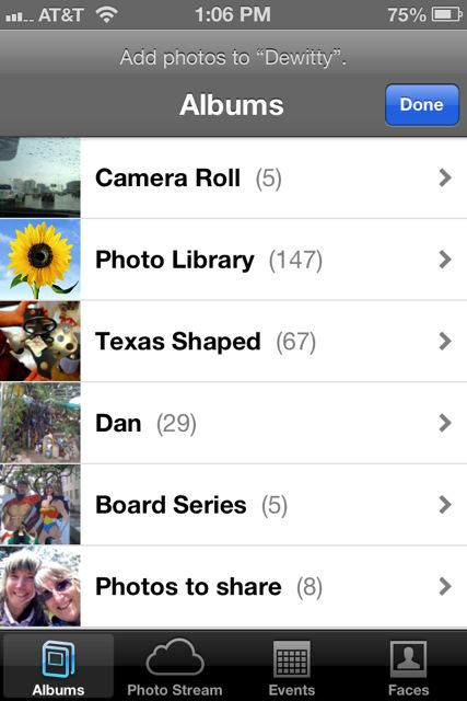 how to delete all camera roll on iphone