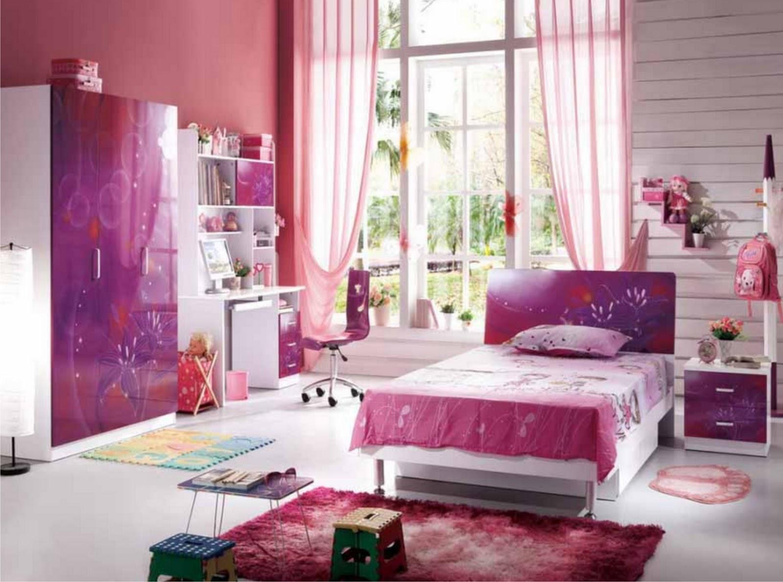 ... minimalis anak perempuan warna pink kamar minimalis cewek warna pink