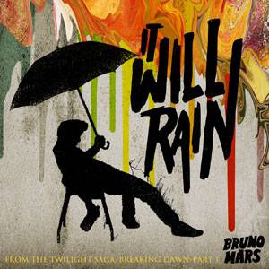 Who wrote Bruno Mars It Will Rain text lyrics