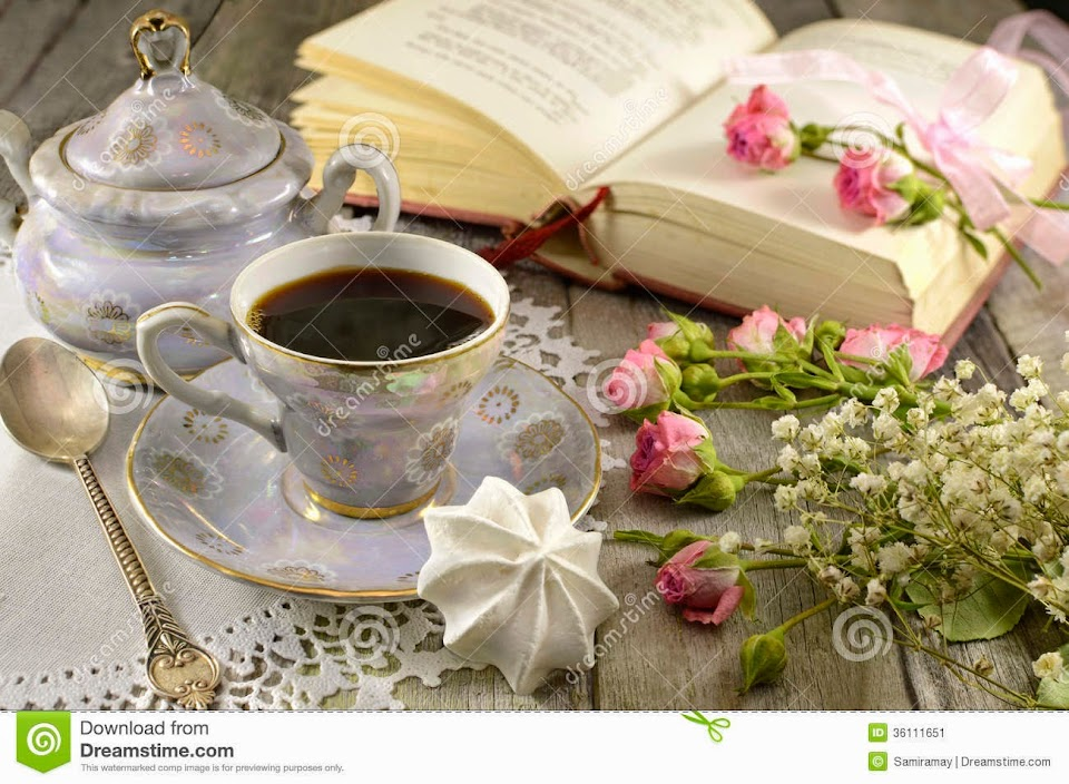 Tea Time and Books