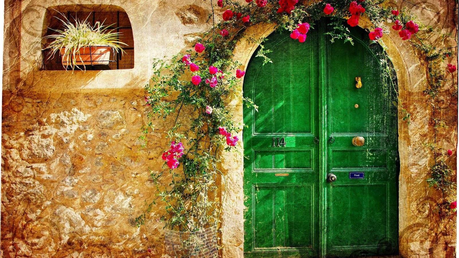 hijau pintu