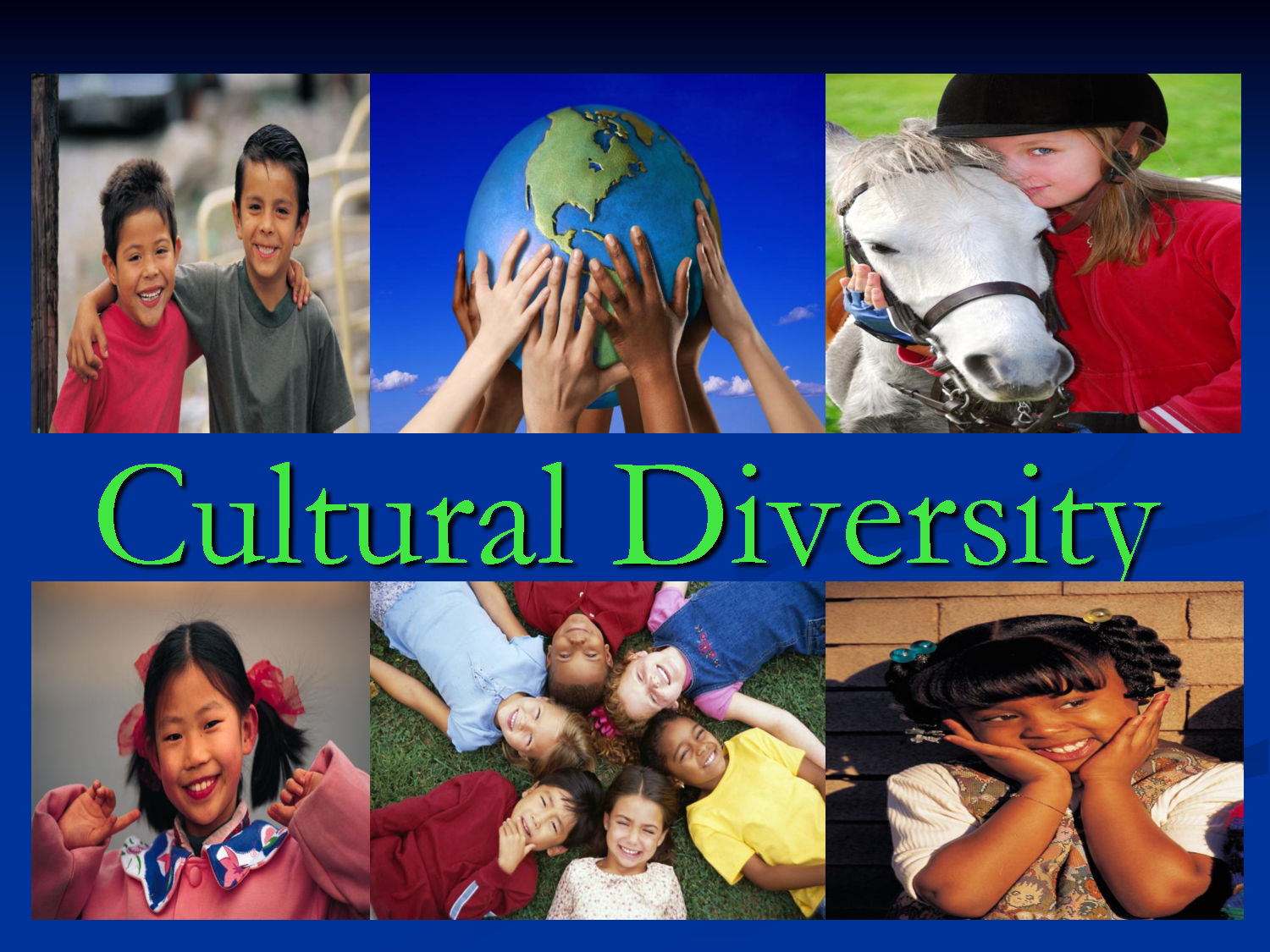 culture and its diversity Culturally diverse teams, research shows, can help deliver better outcomes in  today's organizations this is largely a good thing: diverse teams.