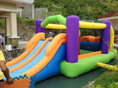 Inflatable Obstacle Racer