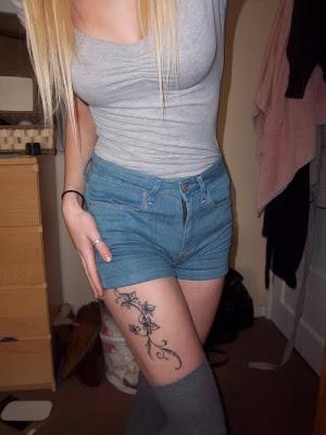 Thigh Tattoos on Thigh Tattoos