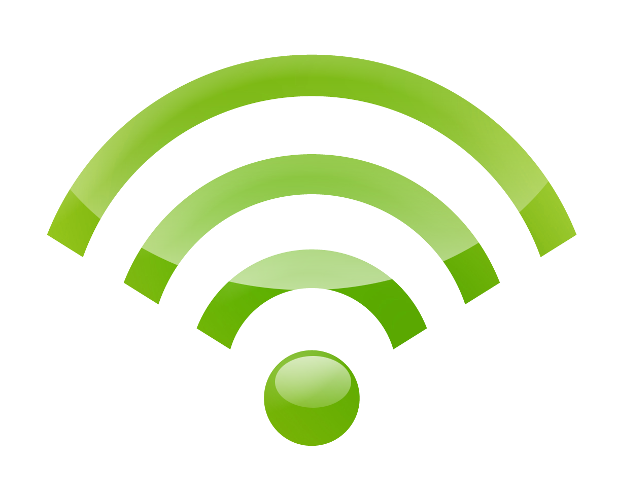 lococock: WiFi signs, icons, PNG files without background