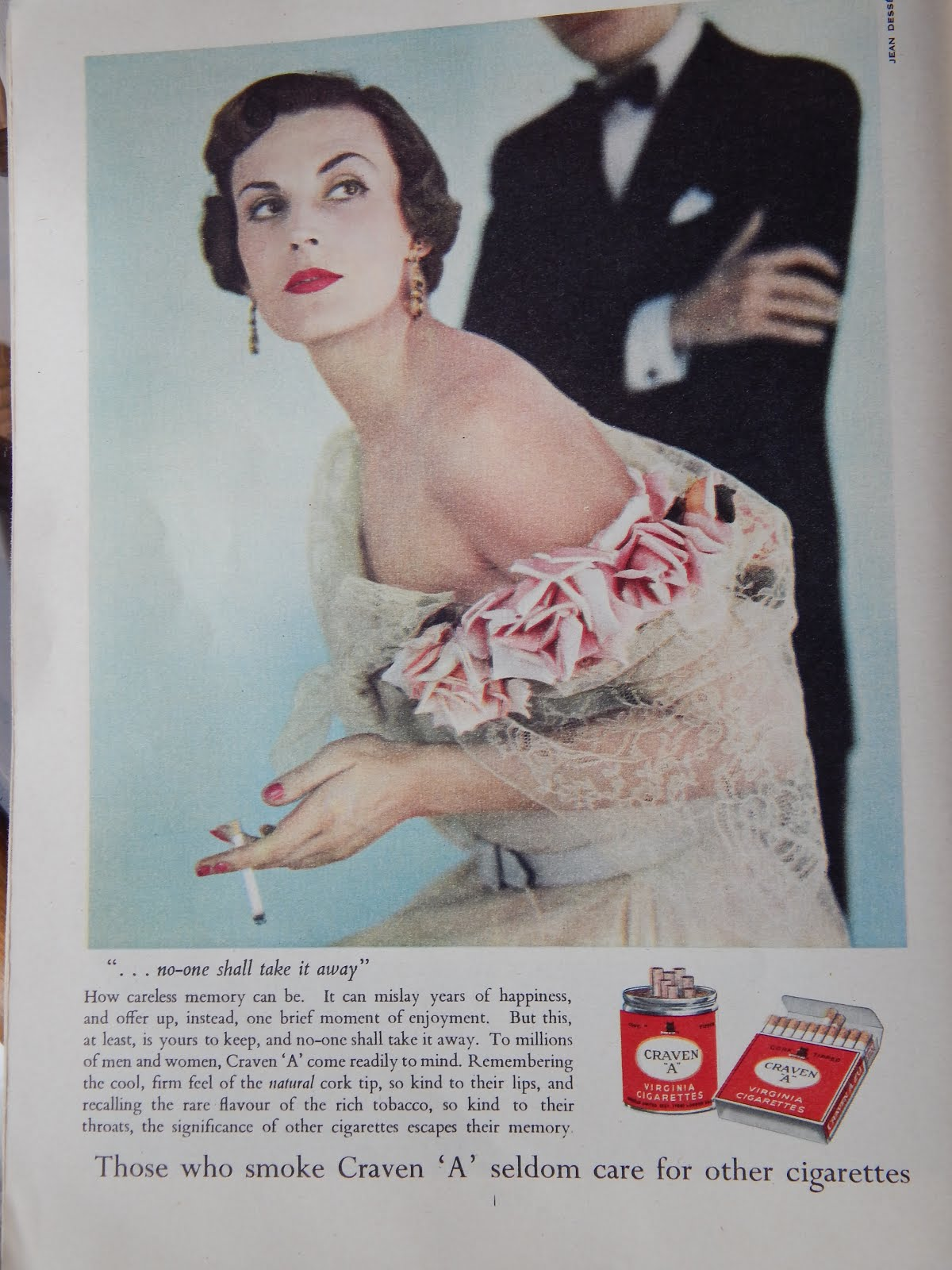 Typical 1960, cigarette advert