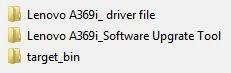تفليش جهاز Lenovo 369i