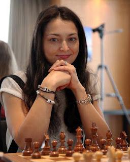 La Russe Alexandra Kosteniuk