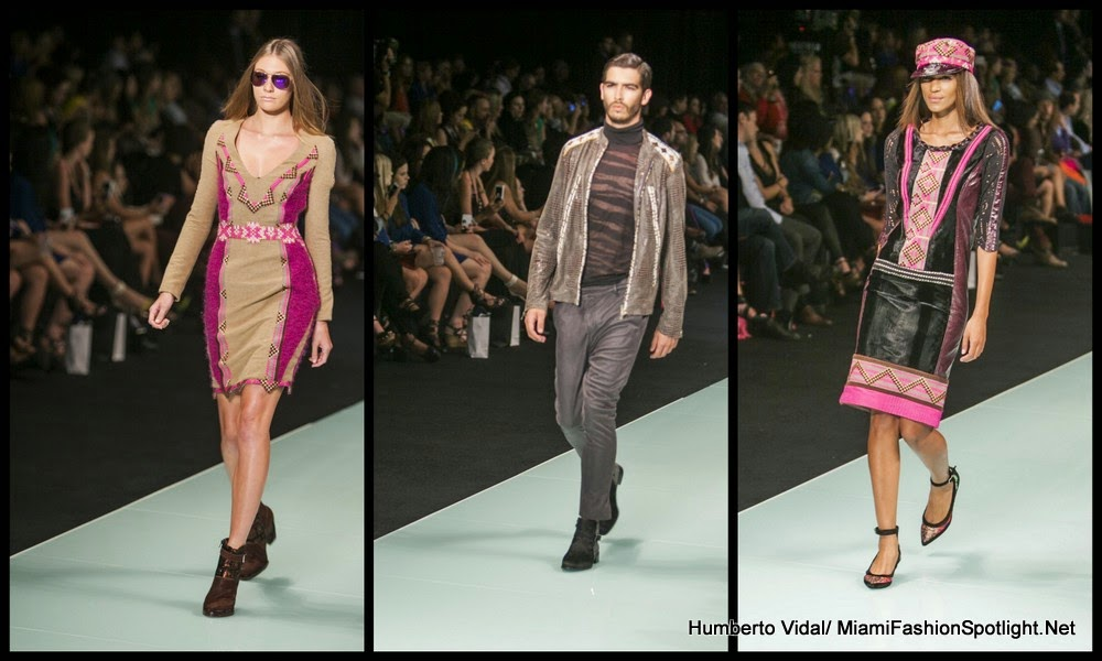 Custo Barcelona Closes Miami Fashion Week's First Night of Runway Shows