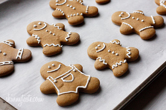 Tuck Shop Nutritional Information: Low Fat Gingerbread Cookies