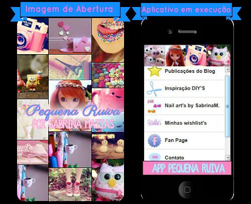 SEU BLOG   Aplicativo do Blog Pequena Ruiva + Saiba como fazer o seu