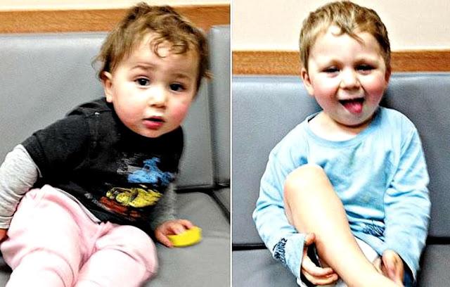 Gêmeos fogem de casa enquanto mãe cochila