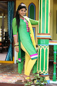 Anjali latest photos in green churidar-thumbnail-4