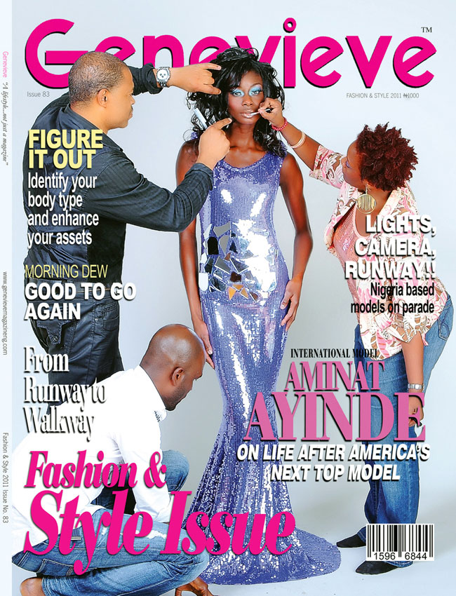 Morsi Pr Blog Aminat Ayinde Graces The Front Cover Of Genevieve Magazine And Coming To America