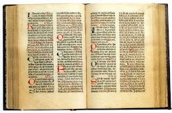 Un hermoso manuscrito
