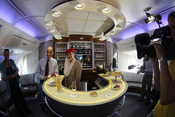 The Hopeful Traveler Emirates A380 First Class