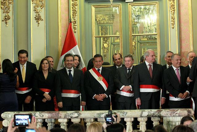 Kingcosmos juramentacion del tercer nuevo gabinete de humala for Nuevo ministro de interior y justicia