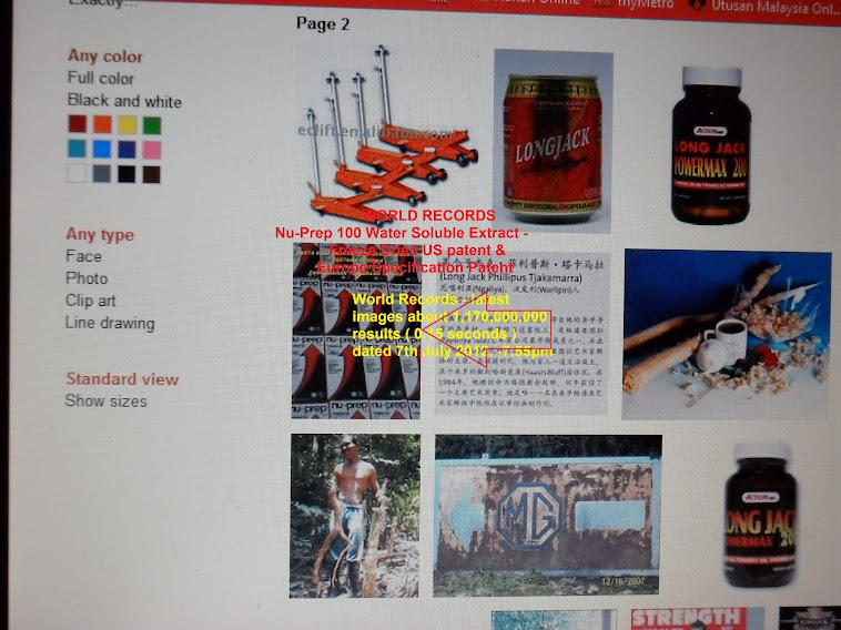 World Records - latest 1,170,000,000 images results 0.15 seconds Nu-Prep 100 US patent