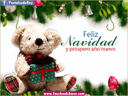Tarjetas bonitas para navidad compartir en muro facebook - Postales de navidad bonitas ...