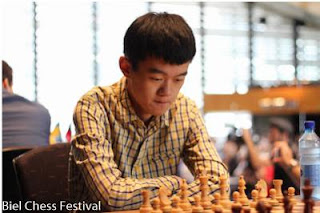 Echecs à Bienne : le GMI chinois Ding Liren © site officiel