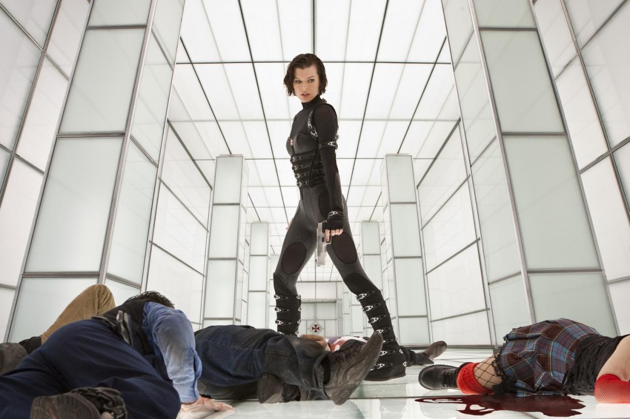 movie retribution Resident evil