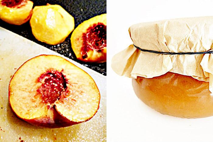 Pfirsich-Birnenmarmelade