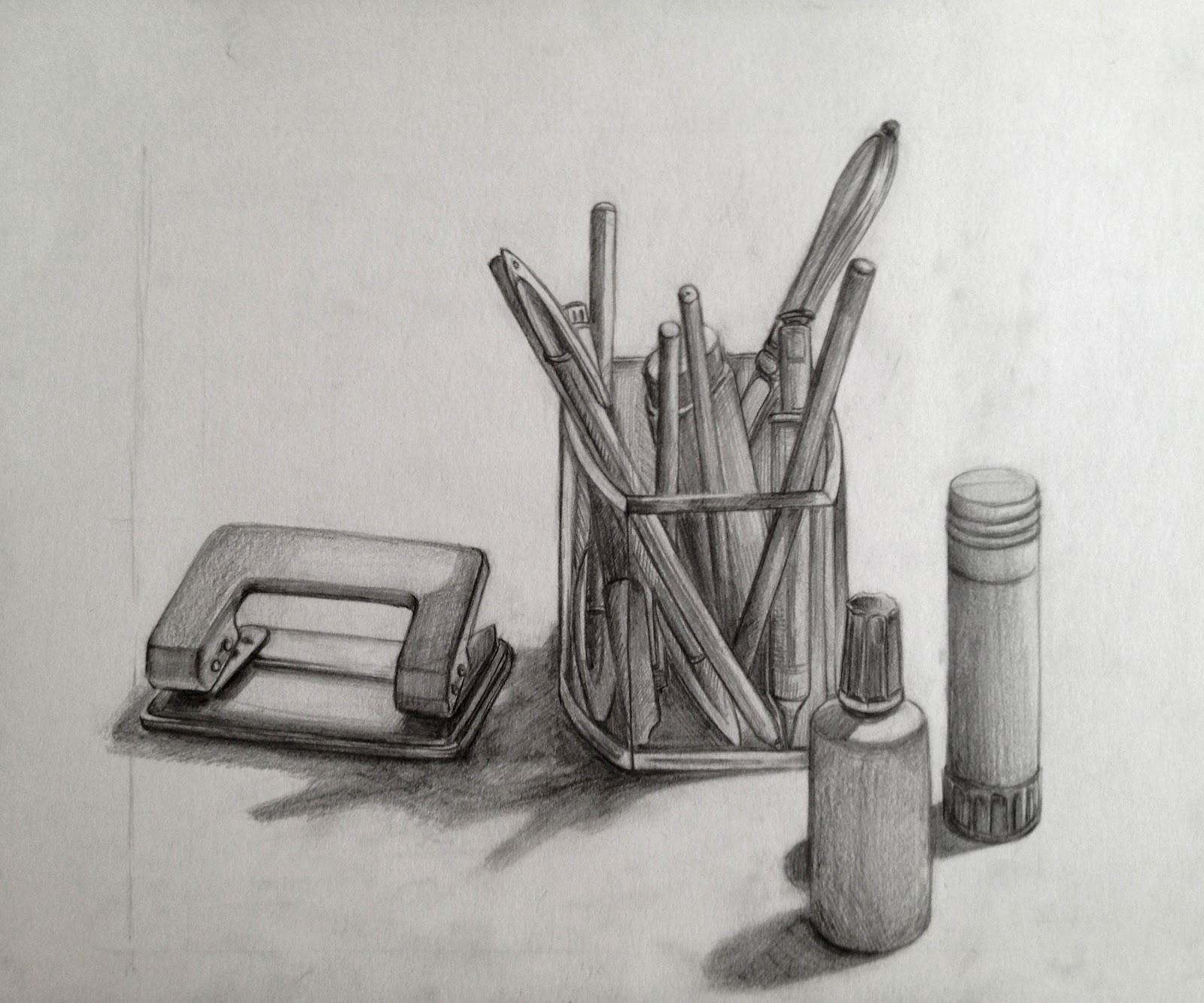 Scribble Drawing Objects : Sofia kaba ferreiro
