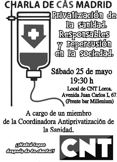 CNT-AIT-Lorca-Sanidad pública