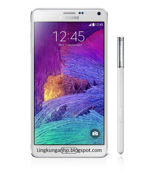 hp terbaru Samsung Galaxy Note 4 Terbaru